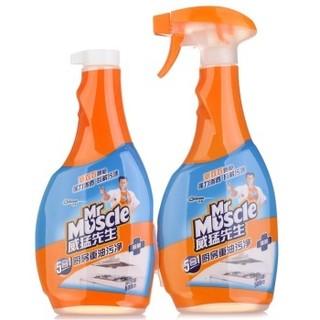 88VIP :  Mr Muscle 威猛先生 厨房油污净 455g*4瓶 *4件