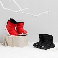 雪地无忧毛毛虫儿童加绒运动靴 26-35码
