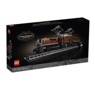 LEGO 乐高 Creator 创意百变高手系列 10277 鳄鱼头火车