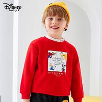 Disney 迪士尼 儿童加绒卫衣
