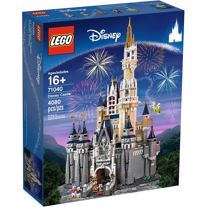 百亿补贴 : LEGO 乐高 迪士尼系列 71040 迪士尼乐园城堡