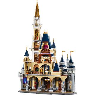 LEGO 乐高 Disney 迪士尼系列 71040 迪士尼城堡