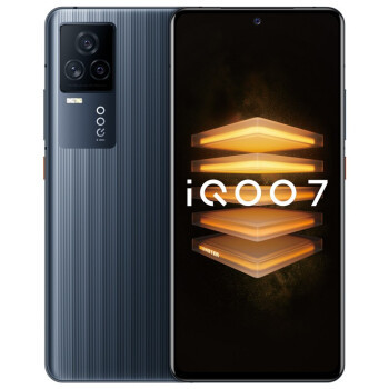 vivo iQOO 7 5G智能手机 12GB+256GB 黑镜