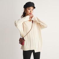 金丽杉 LS02019Y899 100%羊毛女士毛衣