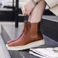 Clarks 261465794 女士厚底切尔西靴
