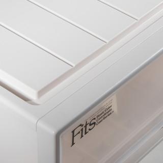 TENMA 天马 Fits系列 F3930 抽屉式塑料收纳箱 50*39*30cm