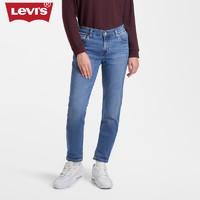Levi's李维斯冬暖系列秋装女士男友风牛仔裤19887-0175