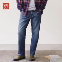 """优衣库 男装 休闲窄口牛仔裤(牛仔""""神""""裤) 434434 UNIQLO"""
