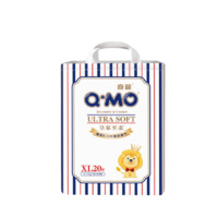 Q·MO 奇莫 皇家至柔 婴儿纸尿裤 XL 20片