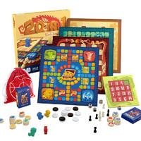 TOI图益经典儿童益智桌游亲子早教桌面游戏蛇棋飞行棋玩具3-4-8岁