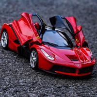 比美高(Bburago)法拉利LaFerrari跑車模型拉法1:18仿真合金汽車擺件男孩禮物送禮佳品