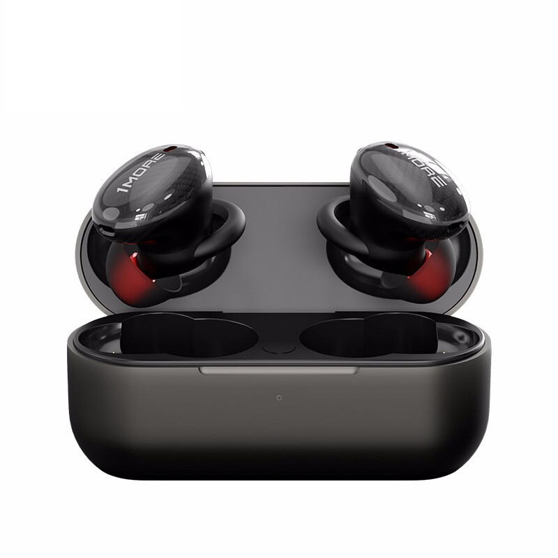 1MORE 万魔 EHD9001TA 无线蓝牙耳机 无线充电盒 黑色
