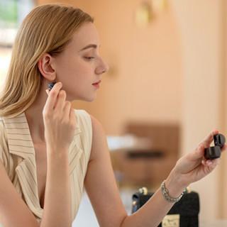 1more 万魔 EHD9001TA 入耳式真无线蓝牙耳机 无线充电盒 黑色