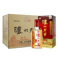 泸州老窖 六年陈头曲 浓香型白酒 52度 500ml*6瓶