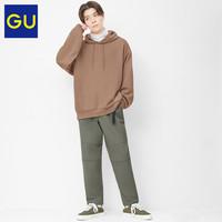 GU 极优 328328 男士摇粒绒长裤