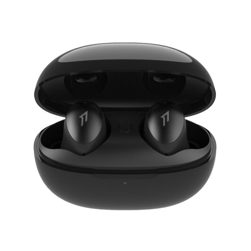 PLUS会员 : 1more 万魔 ESS6001T 入耳式真无线降噪蓝牙耳机 幻夜黑