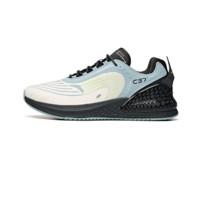 ANTA 安踏 C37+ 中性跑鞋 912045537-3 象牙白/薄蓝色/碳灰 39