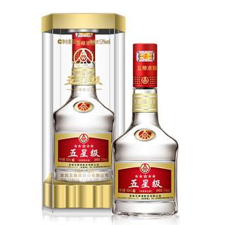 WULIANGYE 五粮液 五星级 金装版 52%vol 浓香型白酒 500ml*6瓶 整箱装