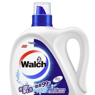 Walch 威露士 有氧洗系列 洗衣液 3kg/瓶 清香型