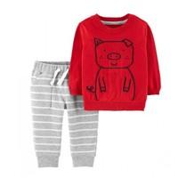 唯品尖货:Carter's 孩特 婴幼儿套装 毛衣+长裤2件套
