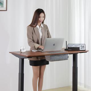 37度 手势升降办公桌 白色 套装