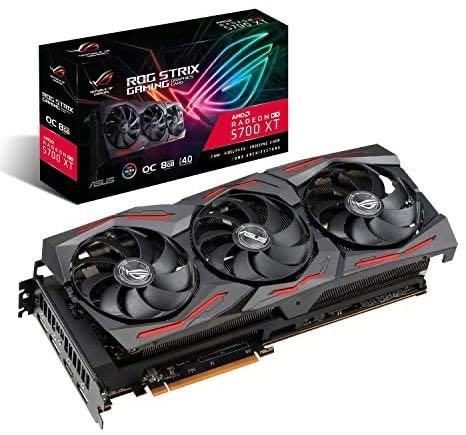 ASUS 华硕 ROG 玩家国度 STRIX AMD Radeon RX 5700XT 超频 8G GDDR6 HDMI DisplayPort 游戏显卡