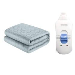 彩阳电热毯双人双控调温家用安全无辐射单人床学生宿舍电褥子正品