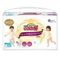 GOO.N 大王 珍珠绵柔棉花糖系列 拉拉裤L32