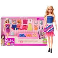 Barbie 芭比 芭比的衣橱系列 GFB82 时尚优雅搭配礼盒 *2件 +凑单品