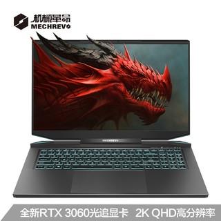 MECHREVO 机械革命 蛟龙7 17.3英寸 游戏笔记本电脑(R7-4800H、16G、512GB、RTX 3060)
