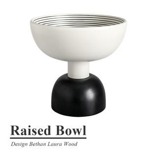 现货进口/意大利BITOSSI/简约纯手工装饰陶瓷摆件RaisedBowl