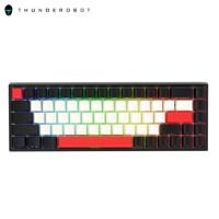 粉丝价:ThundeRobot 雷神 KC3068 68键 有线/蓝牙/2.4G三模 侧刻 机械键盘