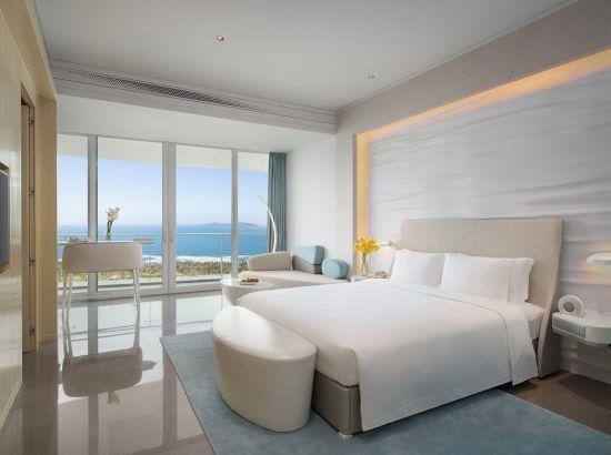 三亚海棠湾红树林度假酒店 180度豪华海景房2晚(含2大2小早餐+minibar+晚餐+旅拍)
