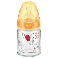 有券的上:NUK  宽口径玻璃奶瓶 迪士尼款黄色120ml