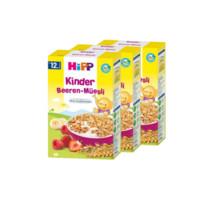 HiPP 喜寶 有機系列 嬰幼兒營養麥片 草莓覆盆子漿果 200g*3盒