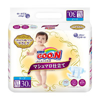 GOO.N 大王 珍珠绵柔棉花糖系列 婴儿纸尿裤 XL30片