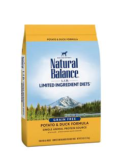 Natural Balance 天衡宝 限定系列 鸭肉土豆配方狗粮 26磅