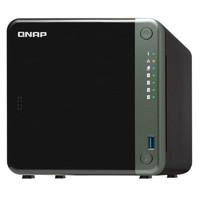 QNAP 威联通 TS-453D-4G 四核心 NAS 双2.5GbE网口 支持PCIe扩展10Gbps或M.2 SSD 畅享高速应用