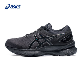 ASICS 亚瑟士 ASICS亚瑟士缓震舒适跑步鞋GEL-NIMBUS 22女子轻量运动鞋1012A587