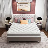 历史低价:SLEEMON 喜临门 筑梦 竹炭乳胶独立袋装弹簧床垫 1.8*2m