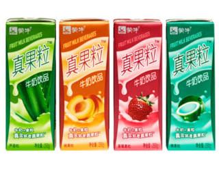 有券的上:蒙牛 纯甄风味酸牛奶200g*24瓶礼盒装*2件+蒙牛 真果粒250g*24瓶*1件