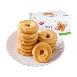 福事多  曲奇饼干黄油味 800g *4件