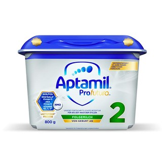 Aptamil 德国爱他美 白金较大婴儿双重HMO配方奶粉 2段 800g