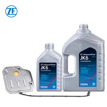 采埃孚(ZF)韩系4速自动变速箱油JK6波箱油 现代悦动/i30/起亚K2等 换油套装A 5L