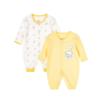 Bornbay 贝贝怡 婴儿绑带连体衣两件装 203L416