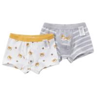 dave&bella 戴维贝拉 男童平角内裤两条装 DBX15739