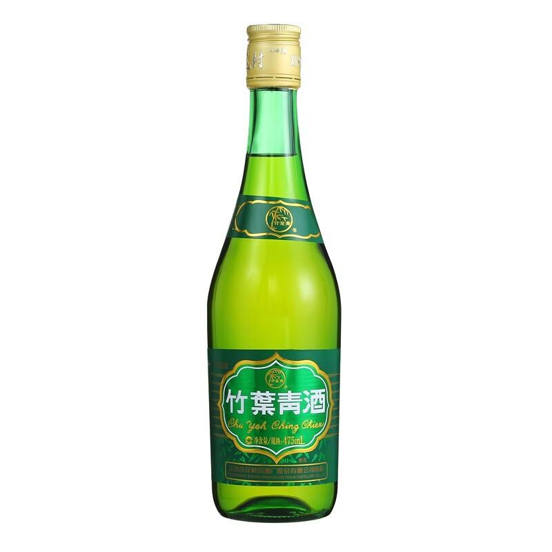 汾酒 竹叶青酒 38%vol 清香型白酒 475ml 单瓶装