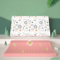 贝壳日记(SHELL DIARY) 泰国天然儿童乳胶枕0-6岁宝宝婴儿枕头负离子款