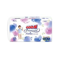 GOO.N 大王 自然之恩系列 婴儿拉拉裤 L40片*4包