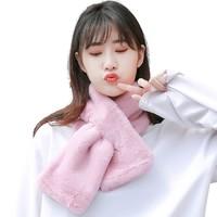 HXUN    女士保暖毛围巾